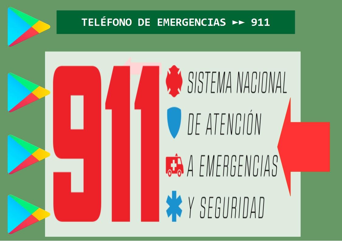 Afiche informativo 911.
