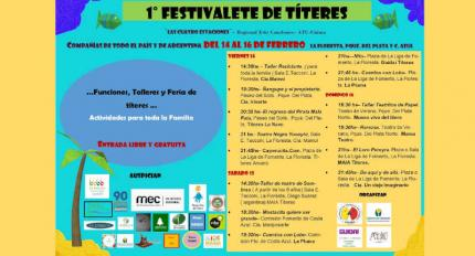 Afiche informativo de las actividades.